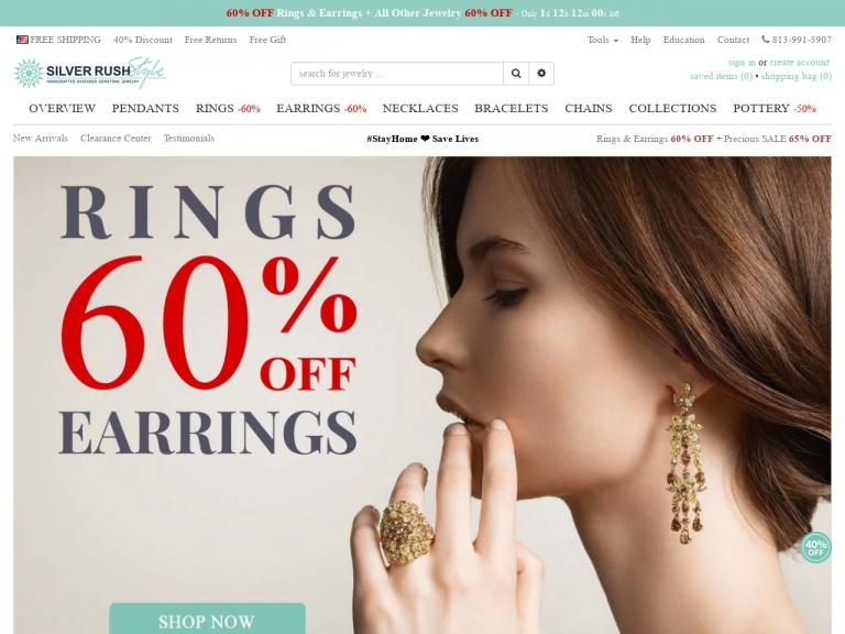 SilverRushStyle-One Week Only – All Jewelry 55% OFF