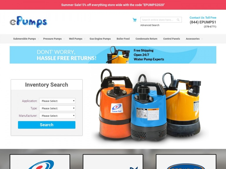 ePumps-Shop the best WELL PUMPS on ePumps!