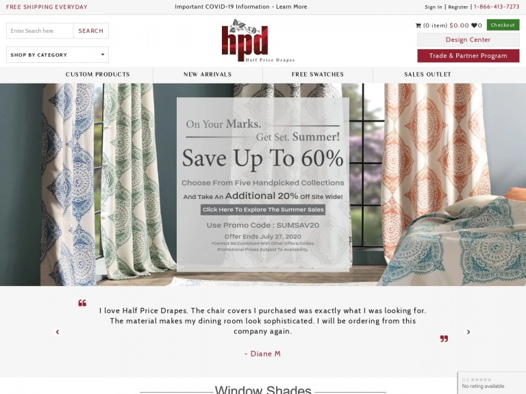 Exclusive Fabrics & Furnishings-Summer Sale 2020 ! Save upto 70%