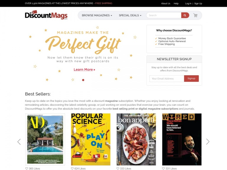 Discountmags.com-The 4th of July Blowout Sale at DiscountMags.com! Blowout pricing on 100's of titles! Shop Now!