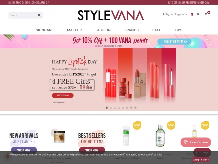 STYLEVANA-UK – Aug – Publisher Exclusive 20% Off