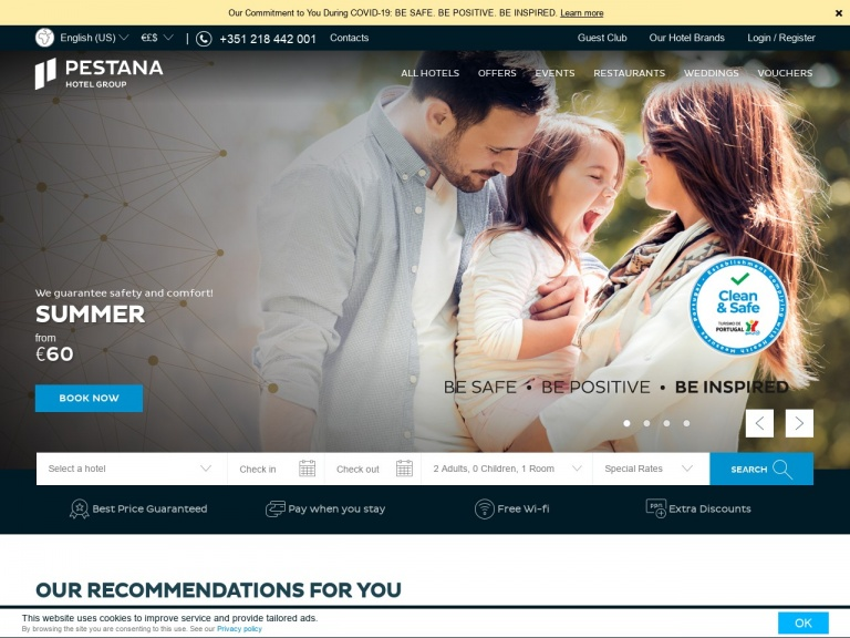 Pestana Hotels & Resorts-Hot Deals, Up to 33% off + Free Cancellation   Pestana Hotel Group, Europe
