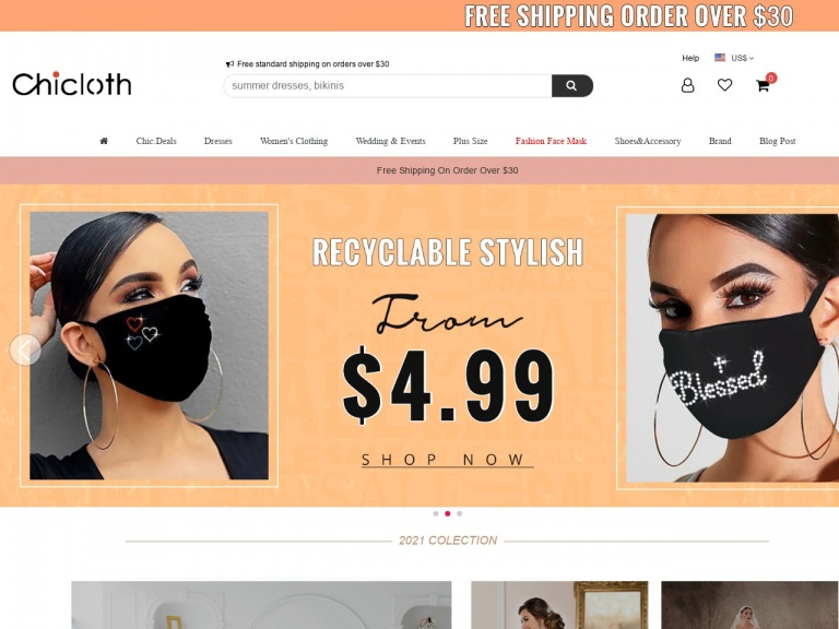 Chicloth CO., LIMITED-Extra 10% Off Fashion Face Masks