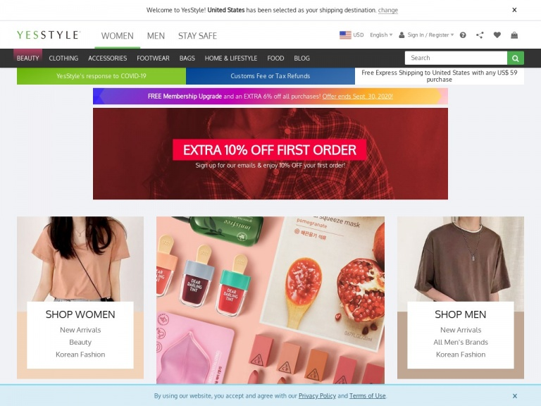 YesStyle.com-SOME BY MI up to 60% off