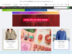 YesStyle.com coupon codes