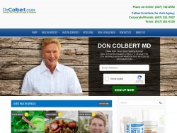 Dr. Colbert - Slowing Down the Aging Process coupon codes