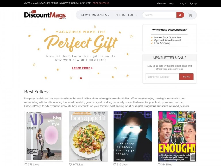 Discountmags.com-Labor Day Magazine Blowout! Don't miss this sale, best prices of the summer at Discountmags.com. Shop Now!