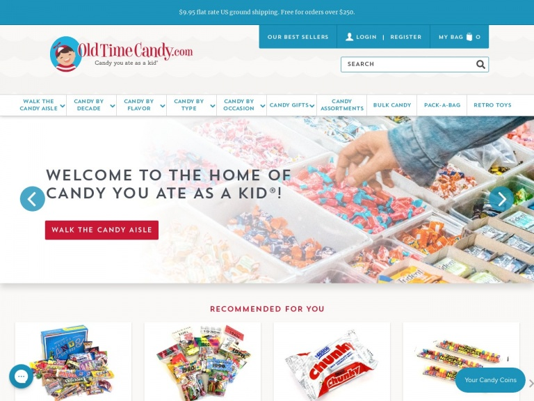 Old Time Candy Company-Pay It Forward Candy Sale At Old Time Candy! Save 12% Site Wide!