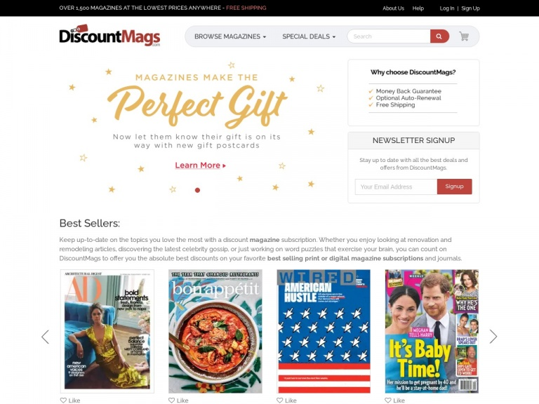 Discountmags.com-The Multi-Year Sale starts now at Discountmags.com. Shop Here!