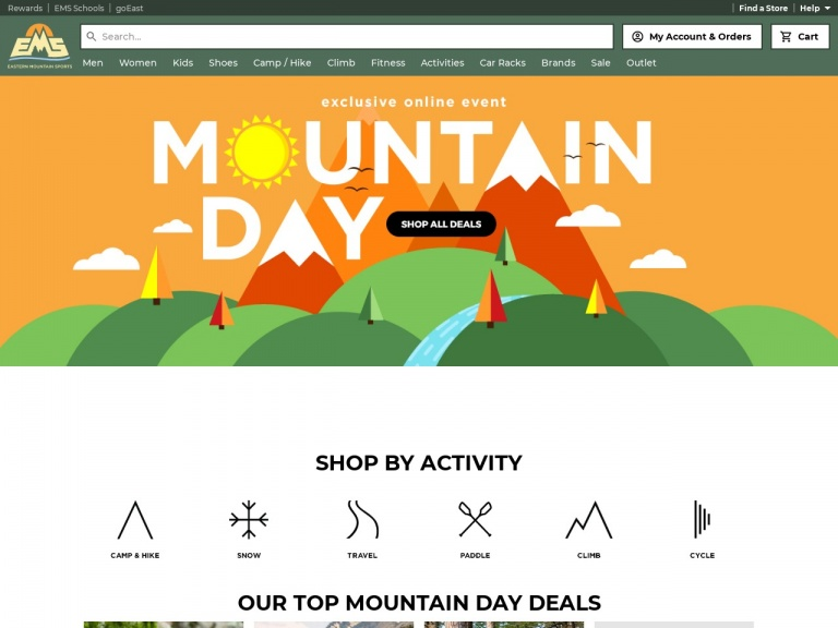 Eastern Mountain Sports-Save 30 – 70% Off Men's and Women's Pants at Eastern Mountain Sports!