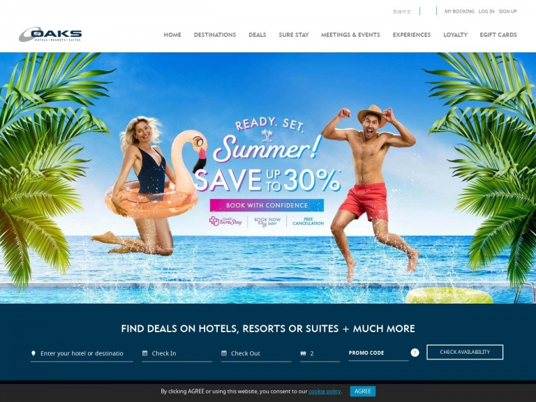 Oaks Hotels & Resorts-Click Frenzy: Save upto 40% + Free Cancellation + Wi Fi Inclusive   Oaks Hotels, Australia