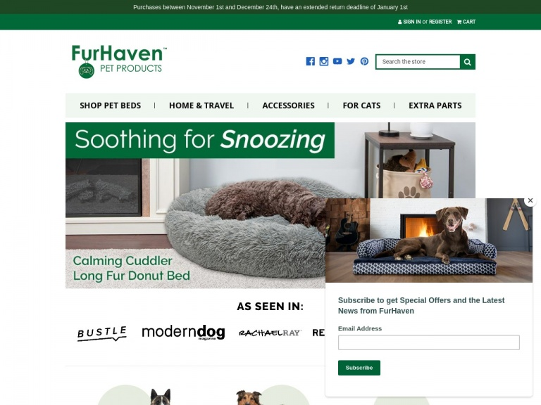 Furhaven Pet Products, Inc.-Get $10 off orders $100 or with code SAVE10