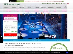 EXPERIENCIAS XCARET PARQUES S.A.P.I. DE C.V. coupon codes