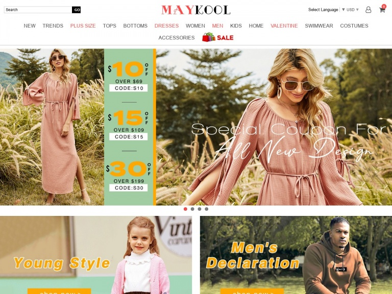 MAYKOOL Int'l Group.LLC-valentine's day 22% off over $80
