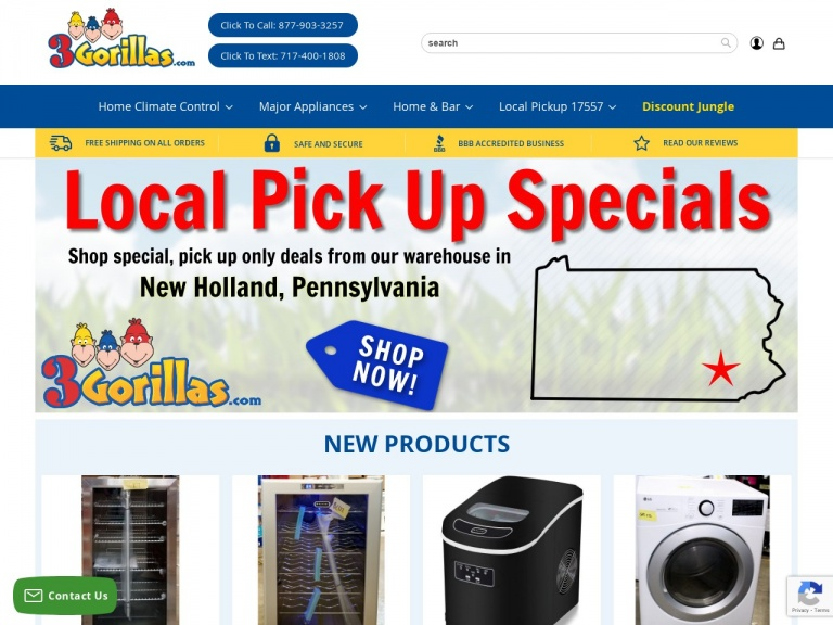 3Gorillas.com-Up to 45% off Wine Coolers + Free Shipping