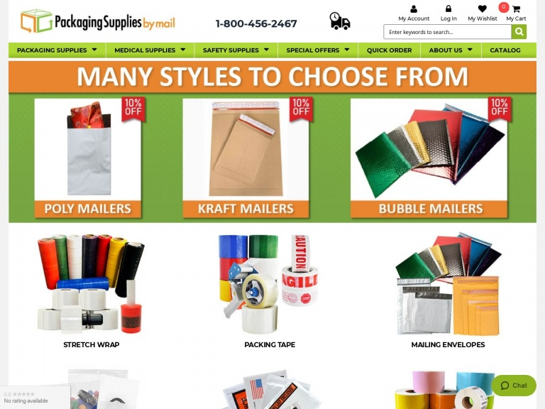 Packaging Material Direct, Inc-Orders over $1000 and Get Hand Sanitizer Free!