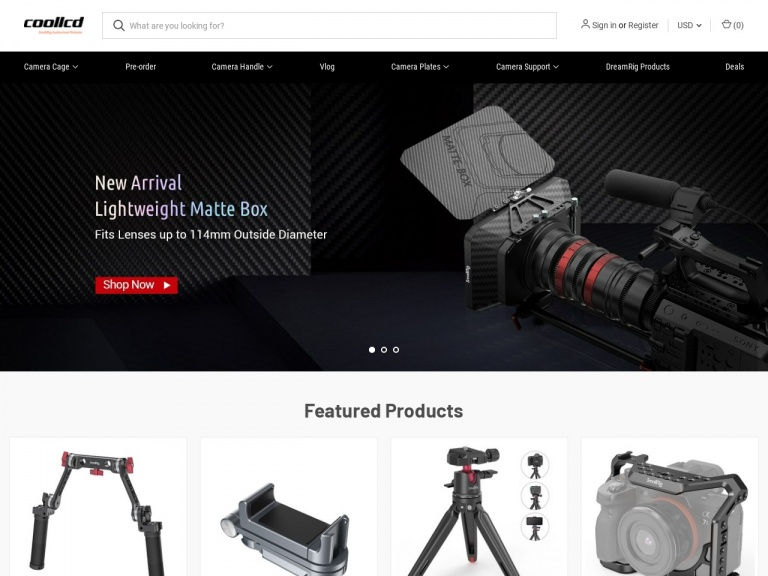 COOLLCD Technology Co., Limited-15% Off SmallRig Half Cage for SONY FX3