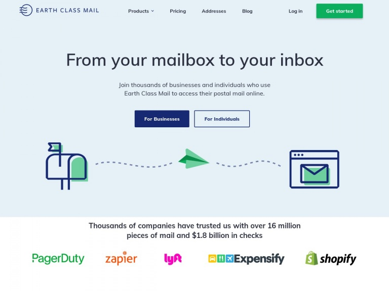 Earth Class Mail-Earth Day Promo – Get 20% OFF for 3-months!