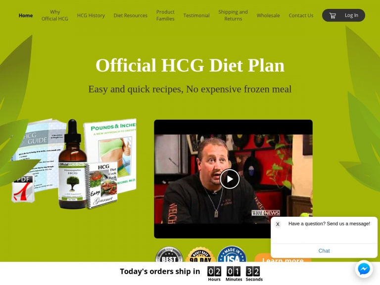 Official hcg diet plan-Mother's Day Sale