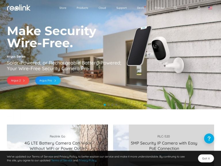 EZCloud Innovation Limited-Save 10% off for RLC-410W/RLC-410W 2 Pack 4MP Dual-Band WiFi Security Camera