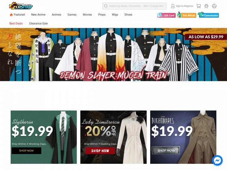 Ezcosplay-Save up to $30 for Mother's Day