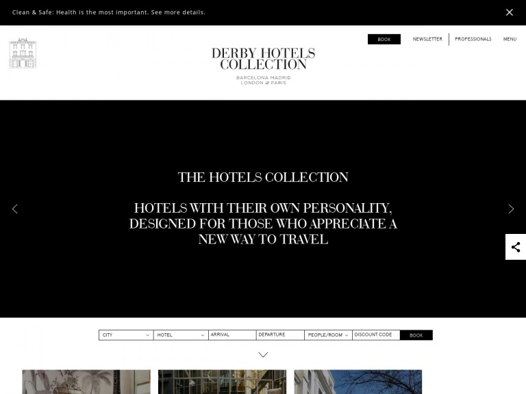Derby Hotels-Stay & Food offer, starting from 299 EUR + Late checkout   Claris Hotel & Spa Barcelona by Derby Hotels