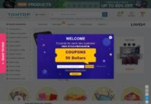 TOMTOP Technology Co., Ltd coupon codes